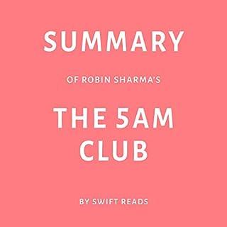 Summary of Robin Sharma's The 5 AM Club audiobook cover art