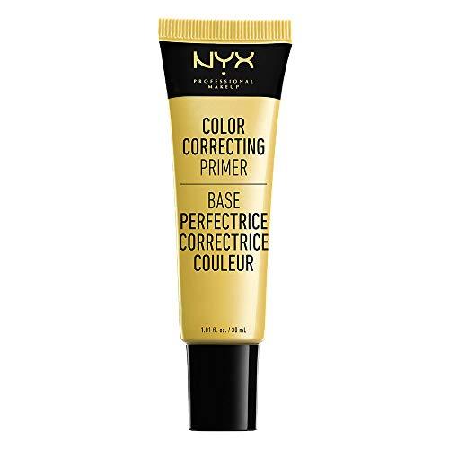 NYX Professional Makeup NYX Professional Makeup Primer líquido Color Correcting Tono 1 Yellow30 ml, Mujer, Amarillo, Talla única