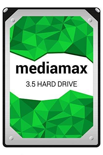 Mediamax interne Festplatte 2.5TB, 3,5 Zoll SATA III, Cache 64MB, RPM: 7200, 2500GB, WL2500GSA6472B Backup Festplatte Desktop PC Computer interne HDD