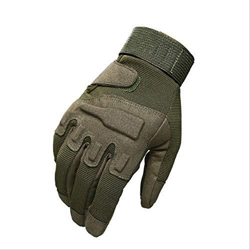 Green Full Finger XLX Bruce Dillon Touch screen guanti da moto invernali a dita lunghe con nocche rigide per moto fuoristrada moto fuoristrada moto da corsa equipaggiamento protettivo da ciclismo