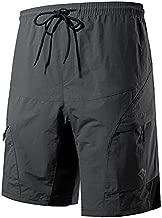 Santic Men's Loose-fit Mountain Bike Shorts Coolmax Lightweight Cycling MTB Shorts L