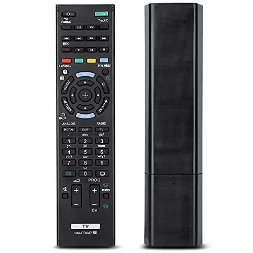 Mando a Distancia Universal para Sony Bravia TV RM-YD103 RM-ED047 rm-ed050 rm-ed060 rm-ed061 Compatible con todos los controles remotos de Sony tv