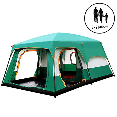 ZYLEDW Camping Dome Tents 8 Person, Waterproof Camping Tent Instant Portable Cabana Beach Tent UV Protection Sun Shelter for Beach Camping Hiking Fishing