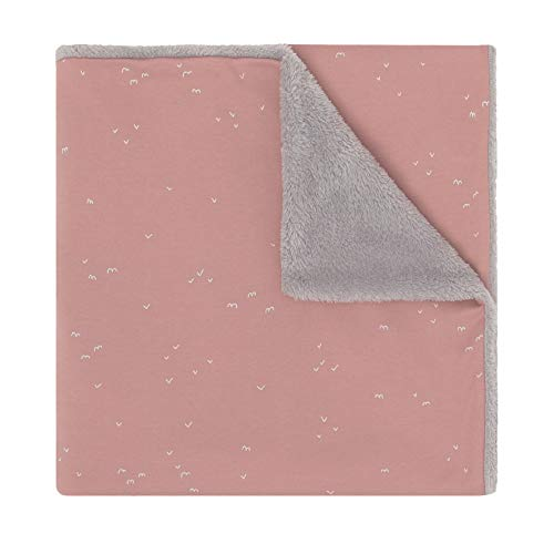 Babyclic Couverture Delta Rose Antique