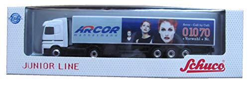 Arcor Mannesmann - MB Actros - Sattelzug - Junior Line (Weiss) - von Schuco