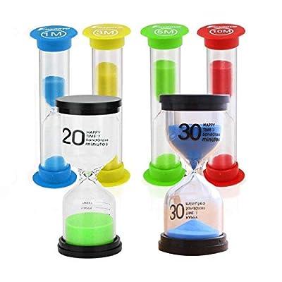 STONCEL Sanduhr 1/3 /5 n /10/20 /30 Minuten, Kinderzahnbürsten-Timer für Kinder, Die Spiele spielen Klassenzimmer