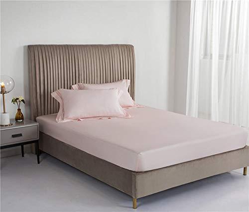 B/H Boxspringbett Spannbettlaken,Simmons Tagesdecke in Reiner Farbe, rutschfeste All-Inclusive-Bettdecke-C_150 * 200 cm,Gute Qualität Bettlaken