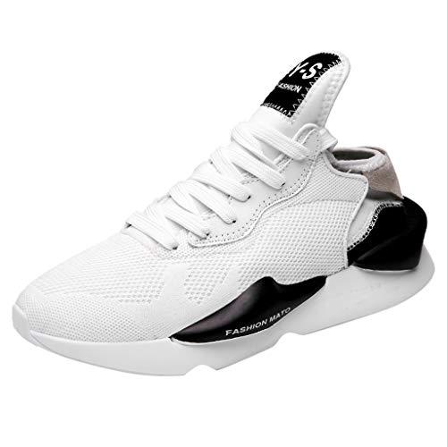 YueLove Herren Laufschuhe Sportschuhe Turnschuhe Trainers Running Fitness Atmungsaktiv Sneakers Basketballschuhe Tennisschuhe Trekkingschuhe Gymnastikschuhe