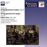 String Quartet in G minor / String Quartet in F major / Piano Trio [US-Import]
