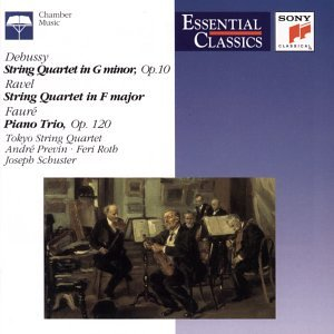 String Quartet in G minor / String Quartet in F major / Piano Trio [US-Import]