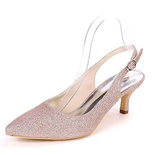 Zapatos De Boda para Mujer Zapatos De Novia con Punta Puntiaguda De...
