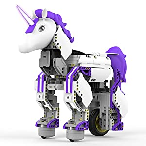 UBTECH Mythical Series: Unicornbot Kit-App-Enabled Building & Coding Stem Learning Kit - 4131EcfDujL - UBTECH Mythical Series: Unicornbot Kit-App-Enabled Building & Coding Stem Learning Kit
