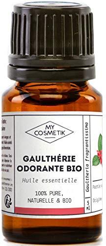 Aceite esencial de gaulteria olorosa orgánico - 10 ml MyCosmetik-