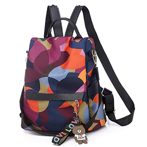 MOCA 12.6 inch Girls & Women Backpack (F58790R_Multicolored)