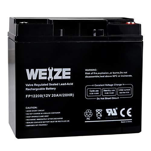 Weize 12V 20AH Lead Acid Battery
