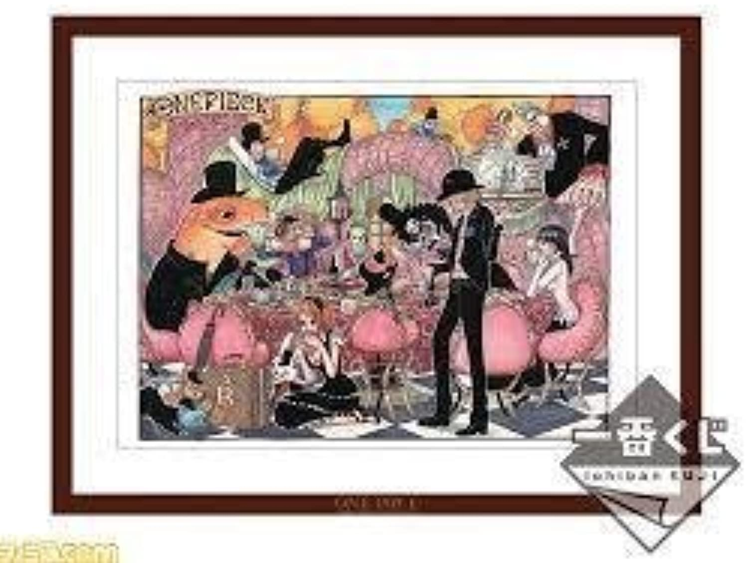 Snack  A Prize Art board of most lottery one piece picture clip collection  Sanji