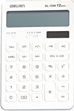 $30 » Basic Standard Calculators 12-Digit Solar Battery Office Calculator, Dual Power Digital Desktop Calculator for Home Office...