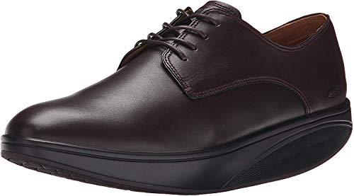 MBT Zapatos de Hombre KABISA 5 Negro, Basket Herren, Nappa-Café/Noir, 43 EU
