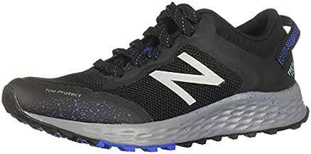 New Balance Women's Fresh Foam Arishi Trail V1 Running Shoe, Black/Black, 9