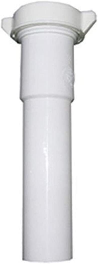 40% OFF Cheap Sale LASCO 03-4345 White Plastic Tubular outlet 1-1 Slip by 12-Inch J 4-Inch