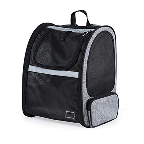 Crystalzhong-petca Pet Carrier Backpack Pet Out Backpack Expansion...