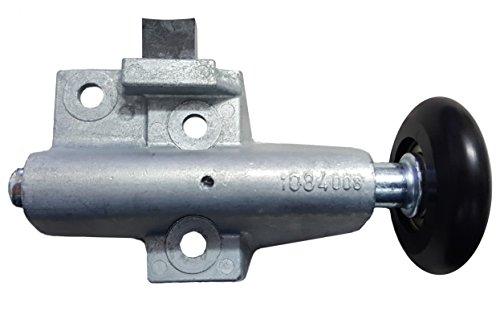 Hörmann Rollenhalter/Laufrolle (rechts) kugelgelagert für N80 Schwingtor mit Halter, Stopper und verschiebbarer Laufrolle