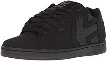 Etnies Men's Fader 2 Skate Shoe, Black, 12 Medium US
