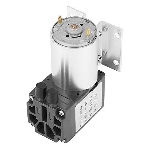 Mini Vakuumpumpe, DC 12 V 5L / min 120kpa Mikropumpe Unterdruck-Saugpumpen mit Halter zur Probenahme von Gasanalysen, Instrumenten