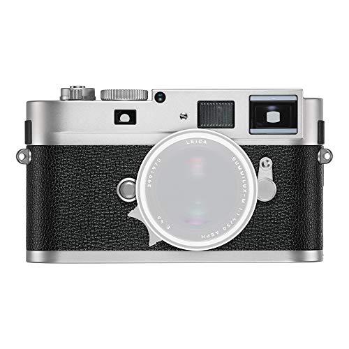 Leica M Monochromデジタル距離計カメラボディ、18 MP、ブラック&ホワイトイメージセンサー – シルバー