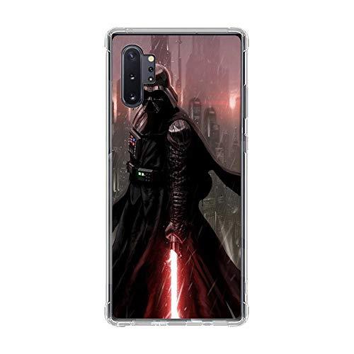 ADCK Transparent Case for Samsung Galaxy Note 10 PRO, Darth-Vader Star-War 3 Clear Soft Rubber Coque Liquid Fundas Silicone