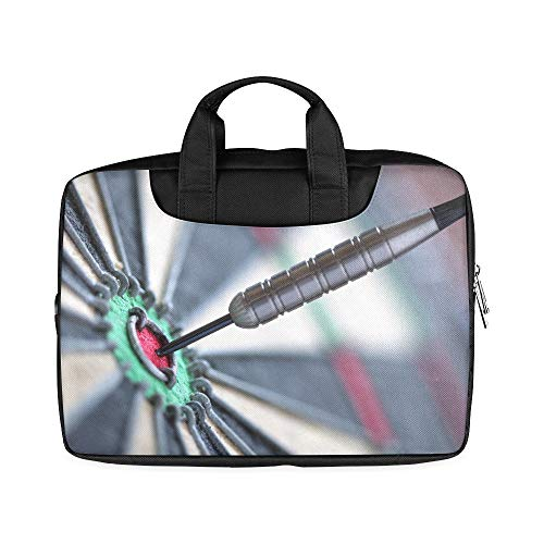 13 Inch Accurate Three Hit Targets Laptop Briefcases with Handle Lightweight Travel Laptop Carrying Case Fits MacBook Air Pro