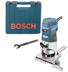Bosch PR20EVSK Colt Palm Grip 5.6 Amp 1-Horsepower Fixed-Base Variable-Speed Router with Edge Guide: Explore similar items