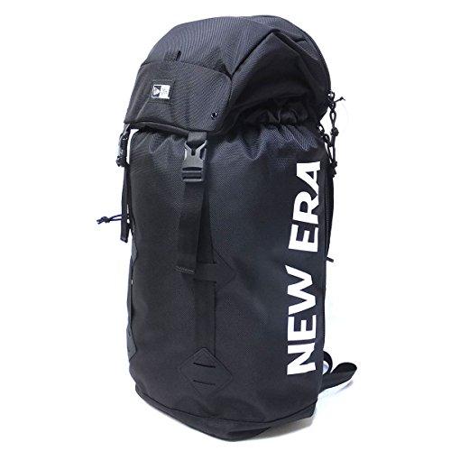 (ニューエラ) NEW ERA リュック 大容量 バックパック RUCKSACK 11556631 ブラック/ホワイト キャップ 収納