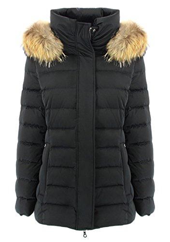 HETREGO' Damen Trainingsjacke Schwarz schwarz 36
