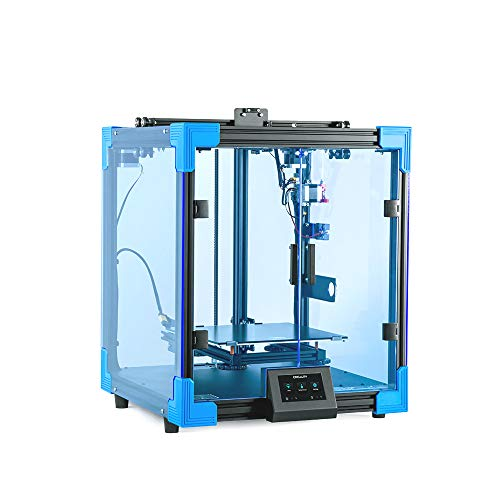 3D Printer Ender 6, Creality All Metal Industrial 3D Printers, Upgrades Stable Core X-Y Structure with Enclosure Faster Print Speed, Printing Size: 250 x 250 x 400mm, Carborundum Glass Bed