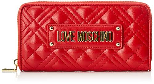 Love Moschino Jc5620pp0a, Portafoglio Donna, Rosso (Red), 3x10x19 cm (W x H x L)