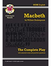 Grade 9-1 GCSE English Macbeth - The Complete Play: perfect for home learning and 2021 assessments