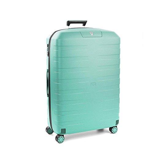 Roncato Maleta Grande L Rigida Box 2.0 - cm. 78 x 50 x 30 Capacidad 118 L, Ligero, Organización Interna, Cierre TSA, Garantìa 10 años