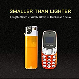DORLIONA Mini Bluetooth Phone Worlds Smallest Mobile Changer Dual Sim L8Star BM10 U8 A4S8