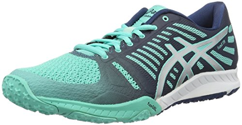 Asics fuzeX TR, Zapatillas de Running para Mujer, Turquesa (türkis/Grau), 39 EU