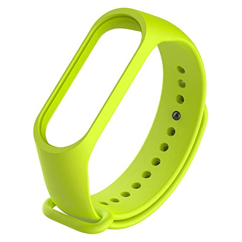 Pulsera inteligente de silicona de repuesto para Mi Band 4 (verde)