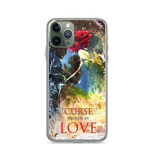 TPU sottile antiurto per Beauty and The Beast Cursed Broken Cover per custodie per telefono trasparente puro iPhone 12/12 Pro Max 12 mini 11 Pro Max SE X XS Max XR 8 7 6 6s Plus Custodie