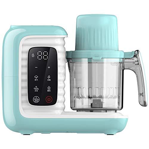 Máquina Multifuncional De Alimentos Para Bebés Con Pantalla Táctil LCD, Procesador De Alimentos Saludables Para Niños Hecho En Casa, Procesador De Alimentos Para Bebés, Licuadora, Molinillo A Vapor
