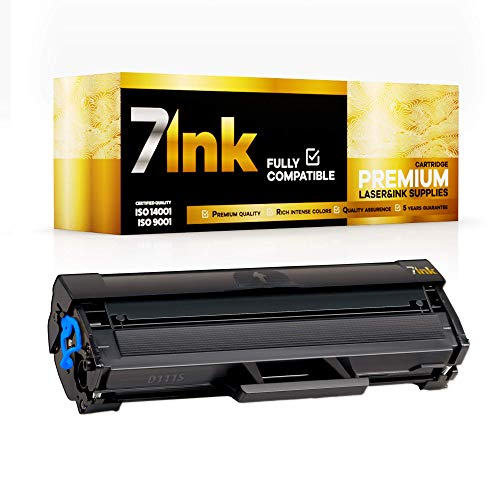 7INK Premium Toner für Samsung Laser Drucker – Druckqualität wie Original – Kompatibel Toner Patronen u.a. für Xpress M2020 M2020W M2021W M2022 M2022W M2026 M2026W M2070 M2070F M2070FW M2070W M2078W