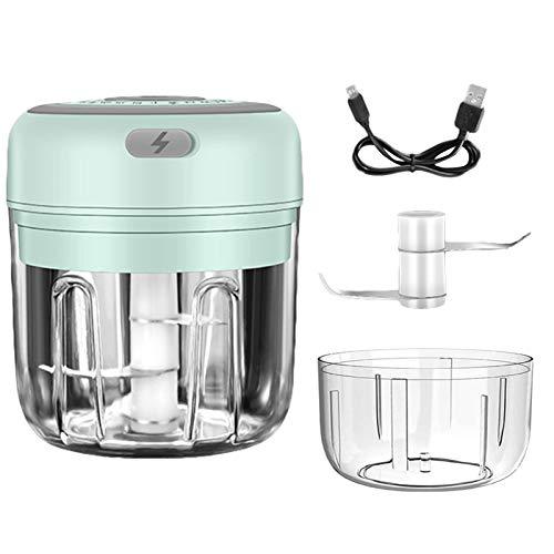 Bettying Mini-zerkleinerer Elektrischer Mini-Knoblauch-Chopper Tragbare Kleine Küchenmaschine Für Pfeffer-Knoblauch-Chili-Gemüse