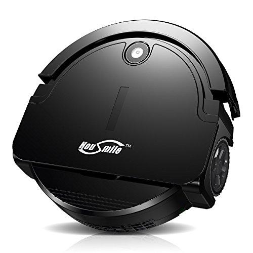 Housmile Saugroboter (90 Min Laufzeit, 10W), Energiesparender Staubsauger mit hoher Reinigungsleistung und intelligenter Navigation