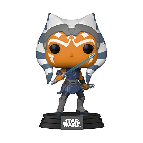Funko- Pop Star Clone Wars-Ahsoka Figura Coleccionable, Multicolor (52023)
