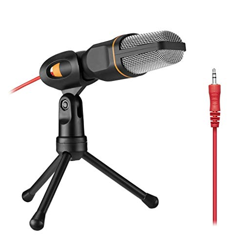 YWSZJ Metal USB Condenser Recording Microphone For Laptop KTV or Windows Recording Vocals Voice Over