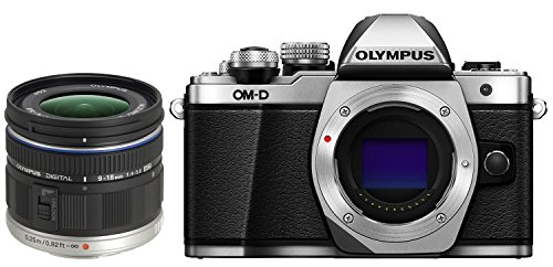Olympus OM-D E-M10 Mark II Mirrorless Digital Camera (Silver)...