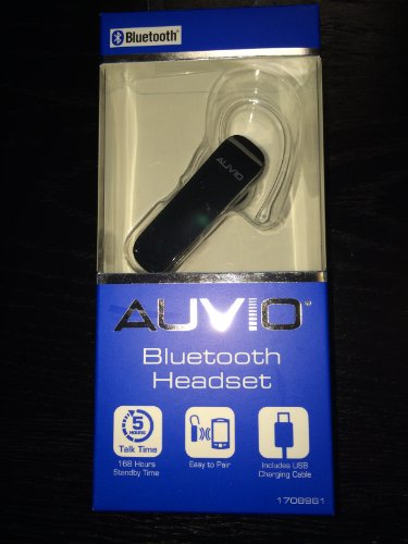 Auvio Bluetooth Headset (Black)